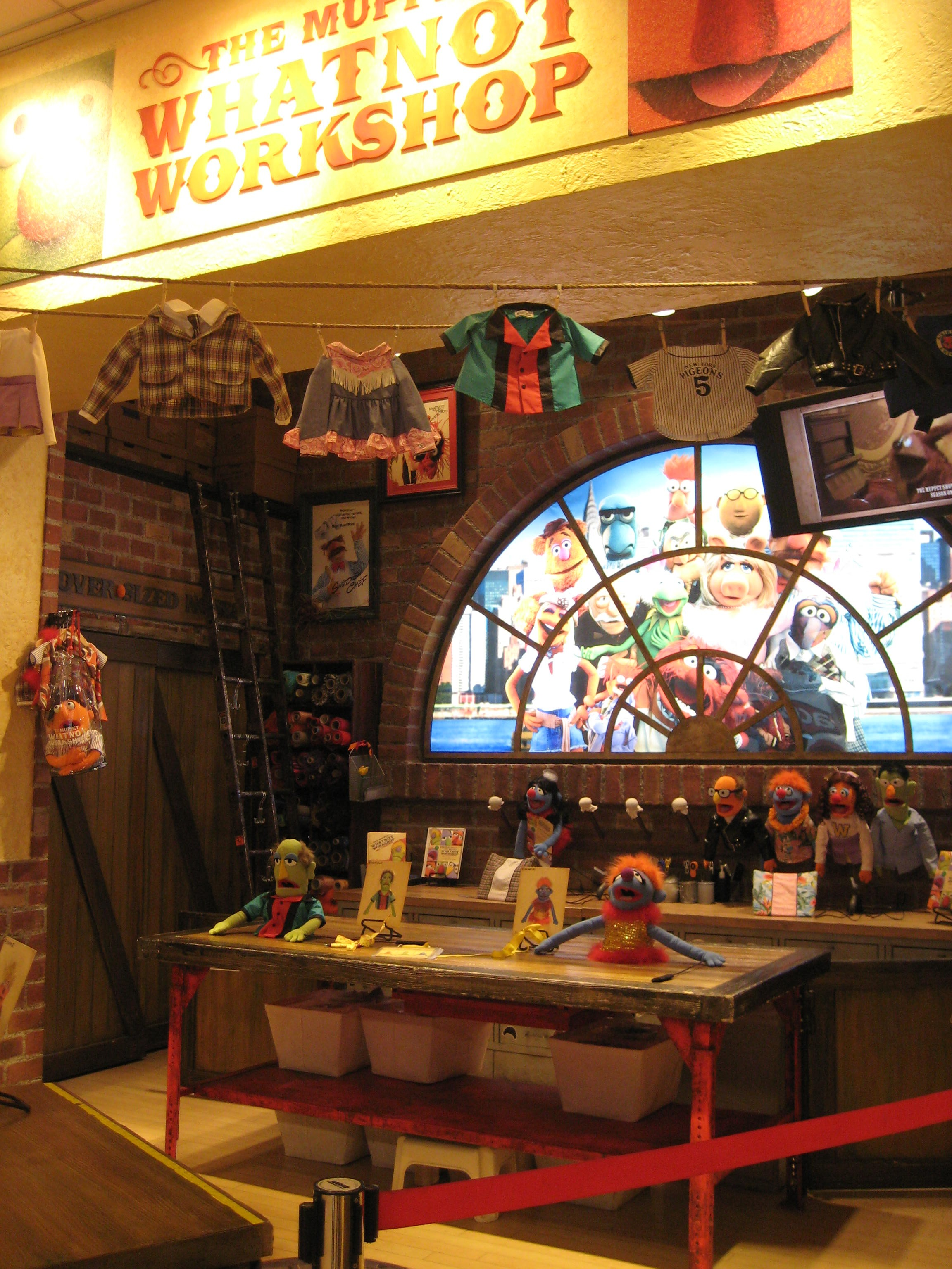 Muppet Workshop at FAO Schwarz