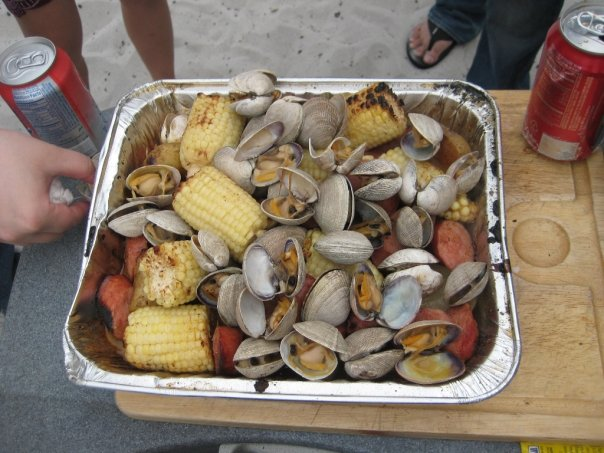 Clam Bake On A Grill » TheCultureBite