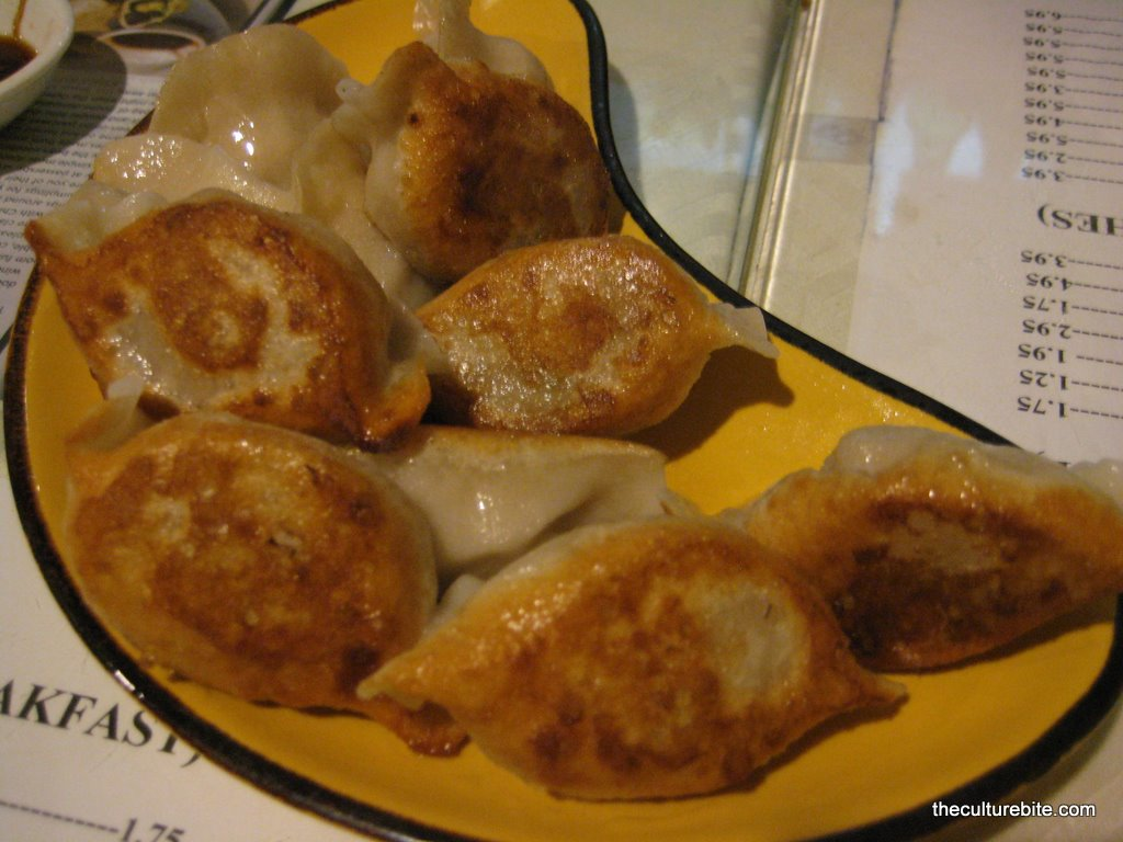 Pan Fried Dumplings KOD » TheCultureBite