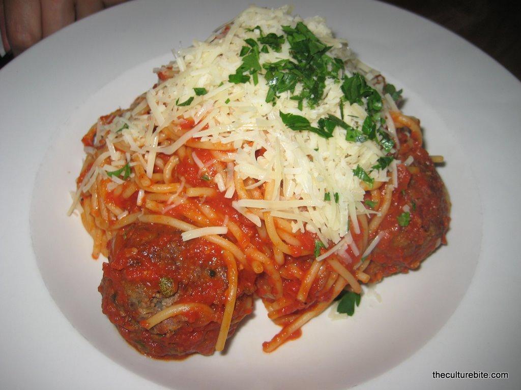 Emmys Spaghetti Meatballs