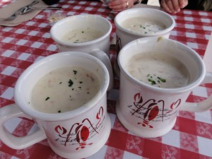 Four Cups of Chowdah