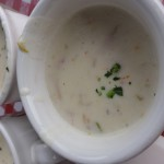 "New England Clam ""Chowdah"""