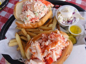 The Double Play Lobster Roll (1 Naked, 1 Maine)