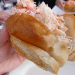 The Naked Lobster Roll Sideshot