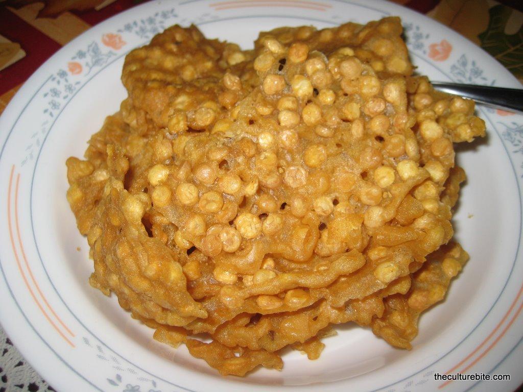Ohn-no-kauk-swe Fried Chickpeas » TheCultureBite