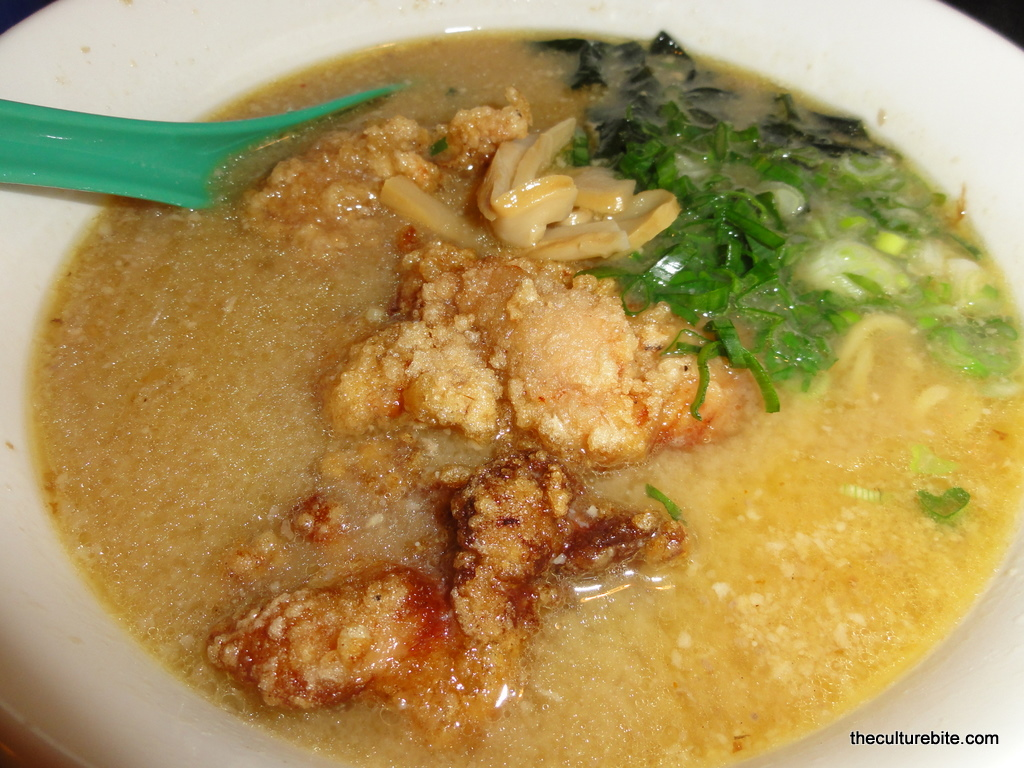 Chicken Ramen Katana-ya fried chicken ramen