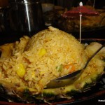 Banana Island Pineapple Fried Rice