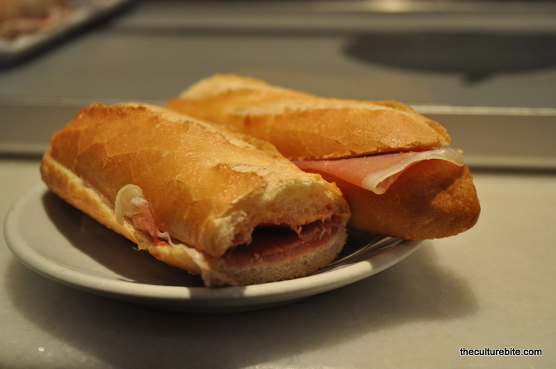 Barcelona Caffe Fiorino Ham Sandwich