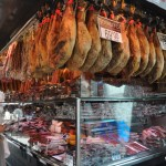 Barcelona La Boqueria Cured Meat Stand