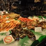 Barcelona La Boqueria Seafood Stand