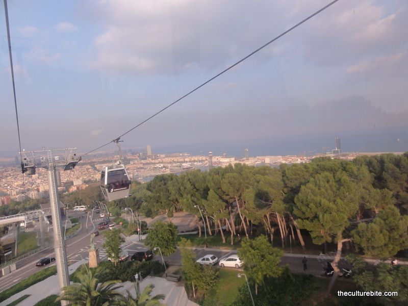 Barcelona Montjuic Cable Car