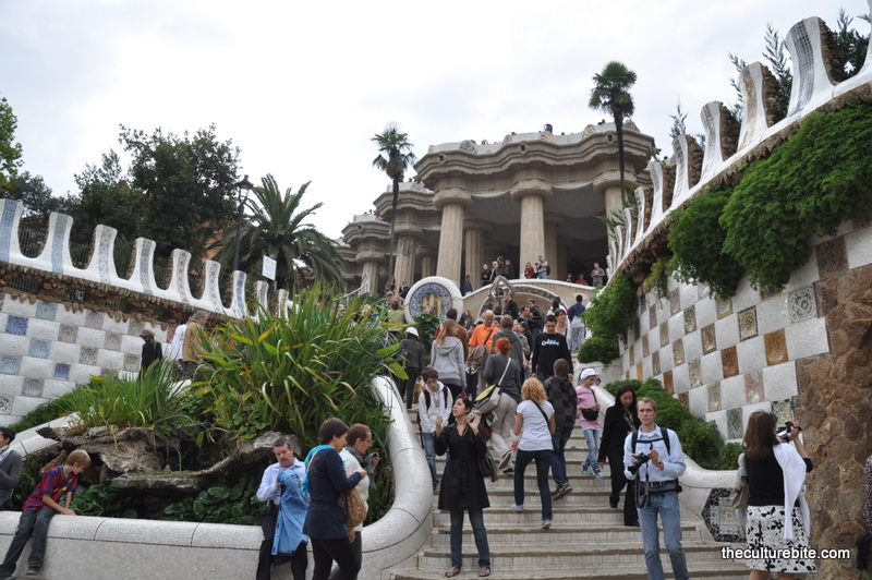 Barcelona Park Guell Entrance