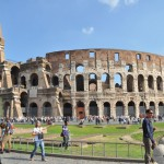 Rome Colosseum Exterior