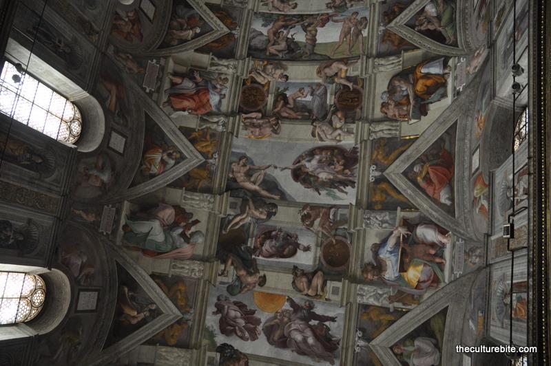 Rome Sistine Chapel Ceiling