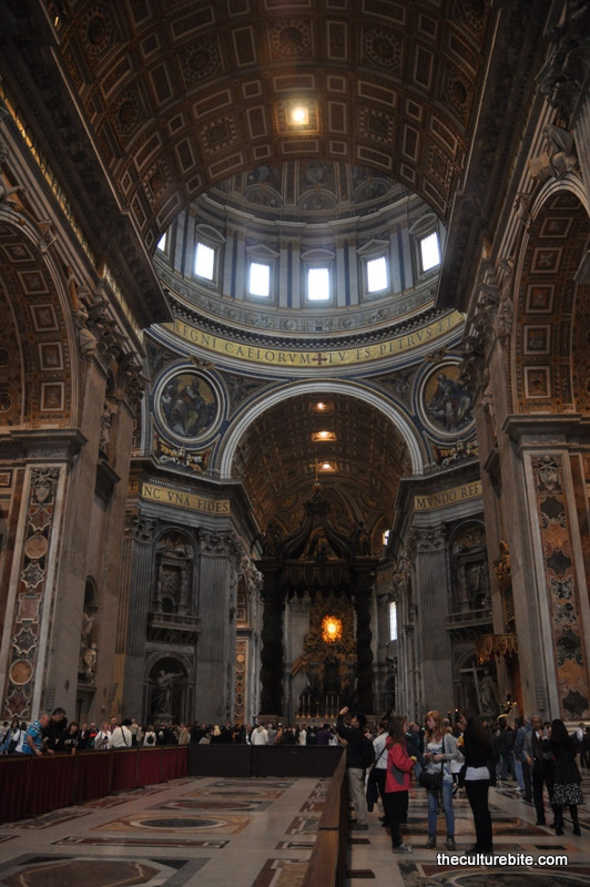 Rome St Peters Basilica Inside