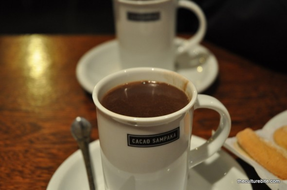 Barcelona Cocoa Sampaka Hot Chocolate