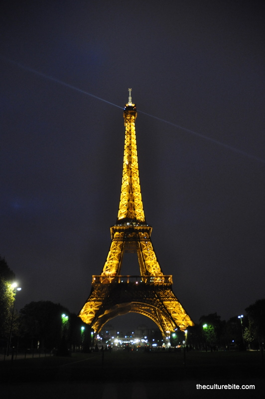 Images and places pictures and info eiffel tower at for Paris night time