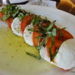 Armani Cafe Caprese Salad