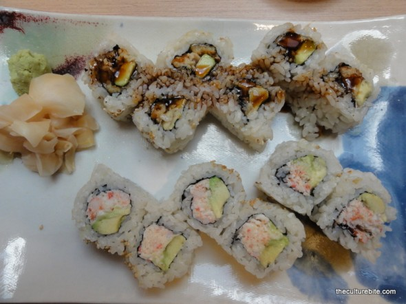 Hamano Sushi Combo