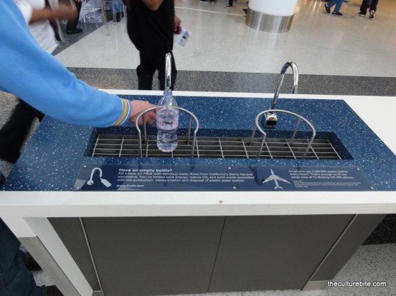 sfo water fountain