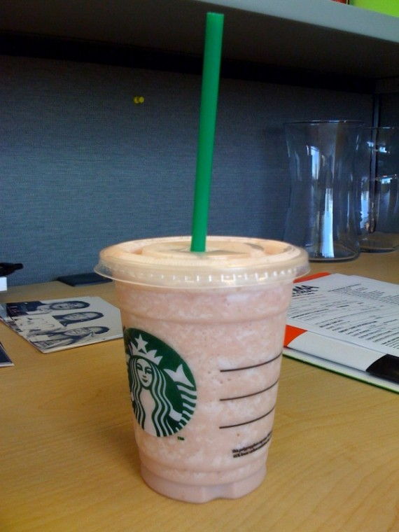 Starbucks Captain Crunch Frap