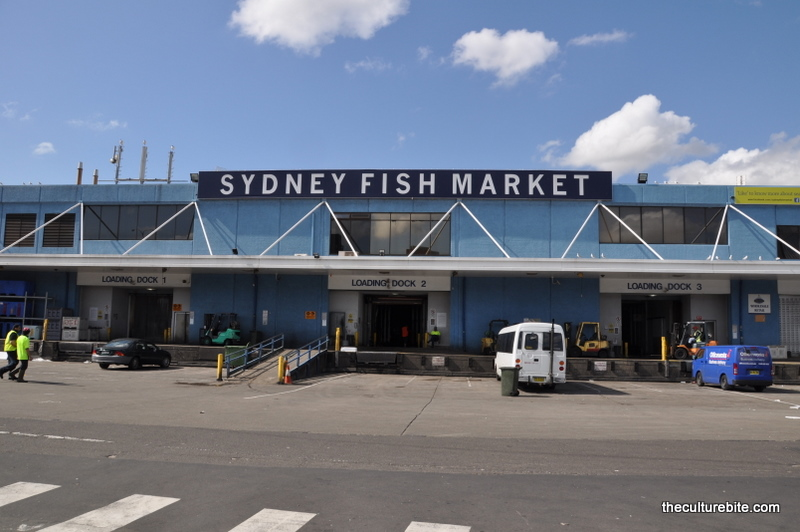 Sydney Fish Market on Darling Harbor