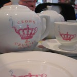 Crown and Crumpet Tea Pot