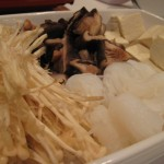Hot Pot Mushrooms Tofu
