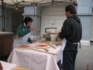 Pizza Politana Making Pizza