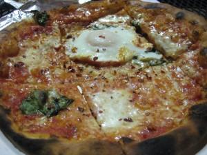 Pizza Politana Margherita Close Up