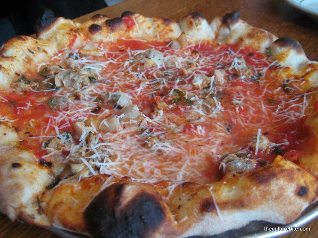 Pizzeria Delfina Clam Pie