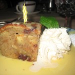 House of Prime Rib Bread Pudding