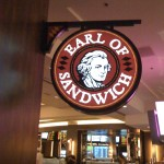 Earl of Sandwich Sign