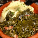 Front Porch Mashed Potatos Collard Greens