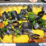 Tomales Bay Mussels Cooked