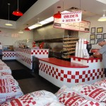 Five Guys Interior