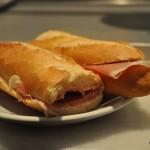 Barcelona Caffe Fiorino Ham Sandwich