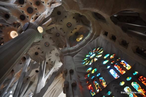 Barcelona Sagrada Familia Inside