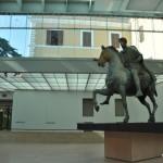 Rome Capitoline Hill Horse Statue
