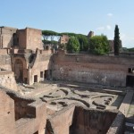 Rome Palatine Hill Ruins