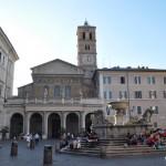 Rome Piazza Santa Maria