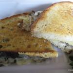 American Grilled Cheese Mushroom