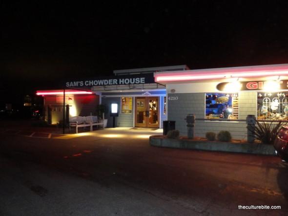 Sams Chowder House Storefront