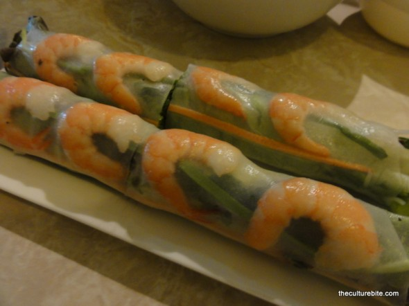 Turtle Tower Spring Rolls