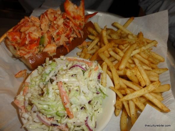 Sams Chowder House Lobster Roll