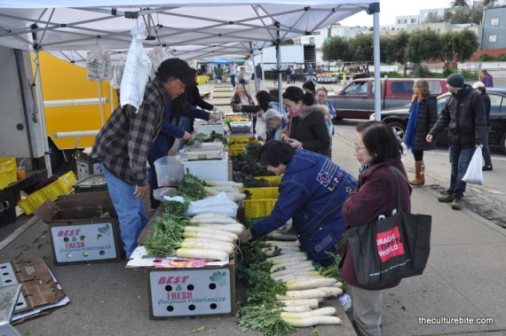 Alemany Farmers Market Produce Stand