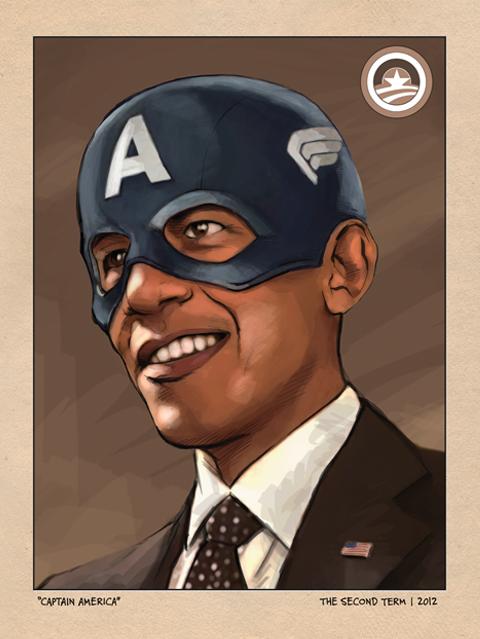 BarackCaptainAmerica